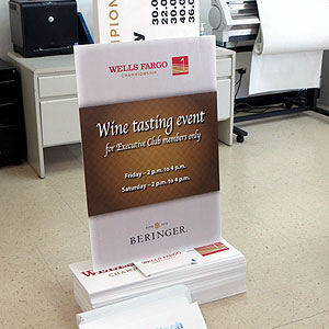 Wine Tasting Event Sign